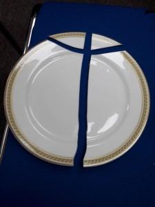 Broken Plate (2)